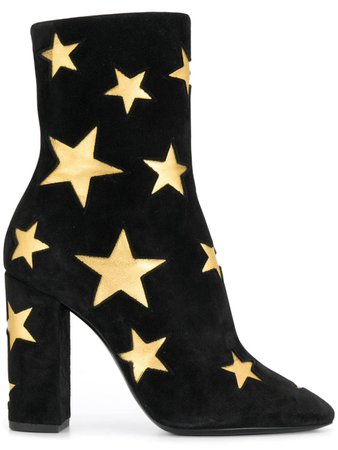 Saint Laurent Lou Star Boots