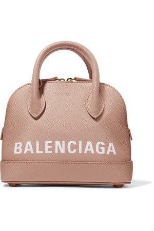 Balenciaga | Ville XXS AJ printed textured-leather tote | NET-A-PORTER.COM