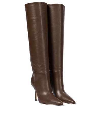 Paris Texas, Mama leather knee-high boots