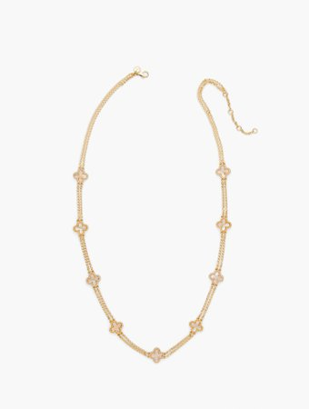 Opal Layering Necklace   Talbots