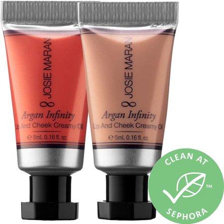 Maran - Argan Infinity Lip and Cheek Creamy Oil Duo