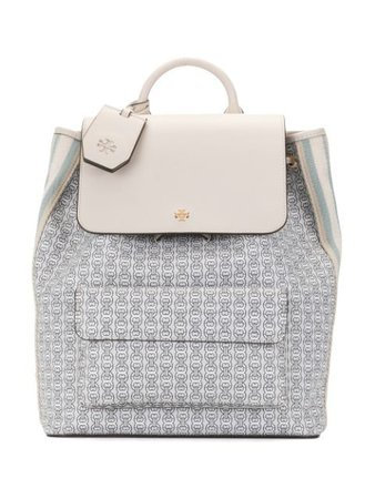 Tory Burch Chain link-print Backpack - Farfetch