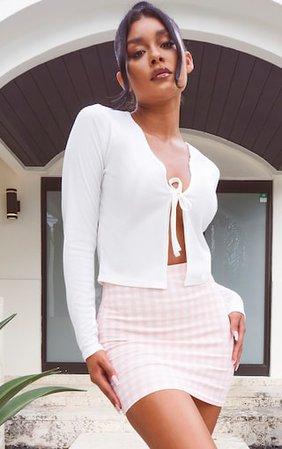 Pink Gingham Mini Skirt | Skirts | PrettyLittleThing