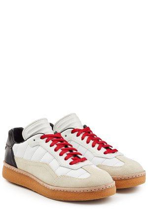Leather and Suede Sneakers Gr. IT 38