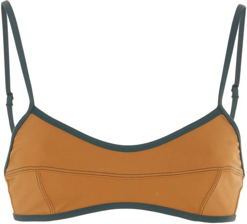 Panelled Bandeau Bikini Top