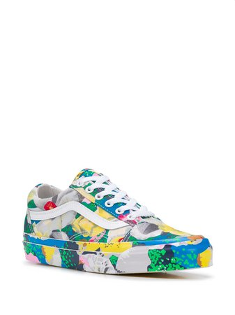 Kenzo x Vans Old Skool Tulipes Sneakers - Farfetch