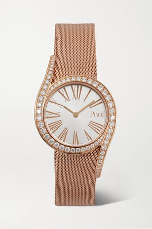 Rose gold Limelight Gala 32mm 18-karat rose gold and diamond watch | Piaget | NET-A-PORTER