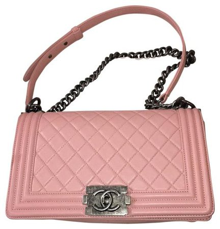 Chanel Boy Medium Pink Lambskin