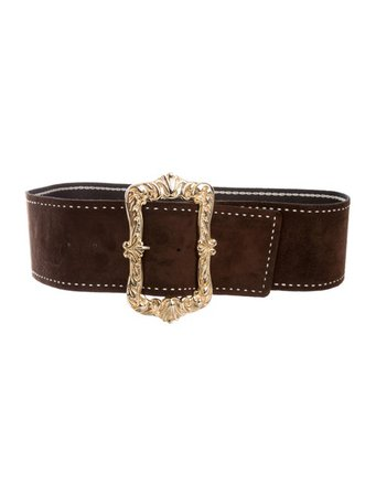 Anna Sui Suede Waist Belt - Accessories - ANA26867 | The RealReal