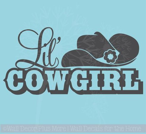 Boots, Class, A Little Sass That's What Cowgirls Western Quotes Wall Decal Wall Words