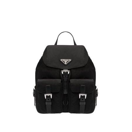 Nylon Small Backpack | Prada - 1BZ677_V44_F0002_V_OOO