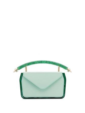 Okhtein Leather Plexbox Mini Bag - Farfetch