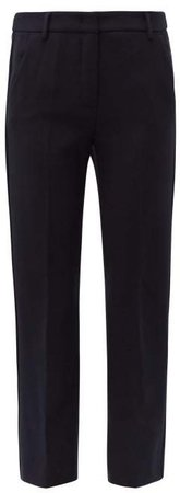 Alcide Trousers - Womens - Navy
