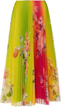 Pleated Trivelas Skirt
