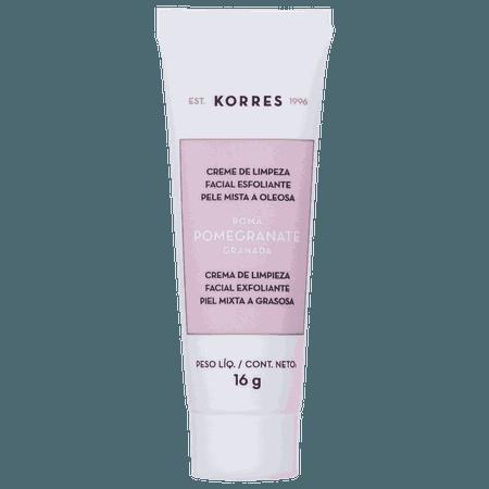 Creme de Limpeza Korres Pomegranate Esfoliante   Beleza na Web