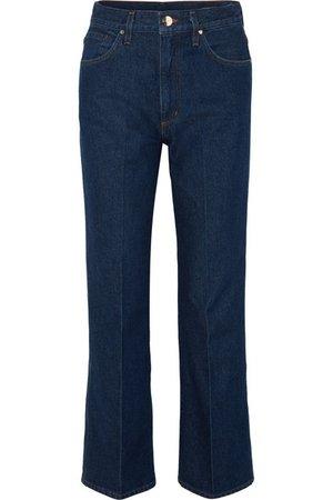 Goldsign | The A high-rise straight-leg jeans | NET-A-PORTER.COM