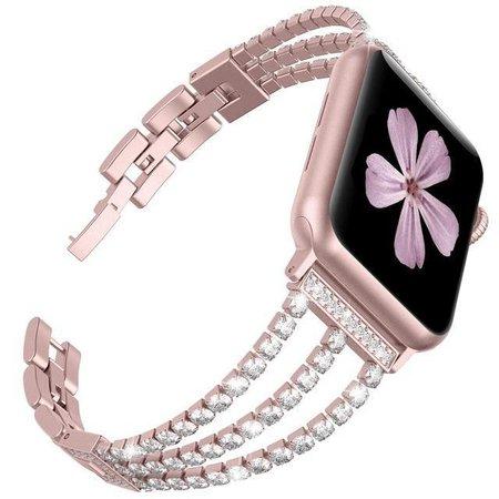 Diamond Pink Wrist Band Apple Watch