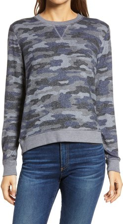 Camo Cloud Jersey Sweatshirt