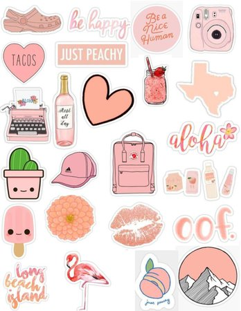 aesthetic spring stickers - Google Search