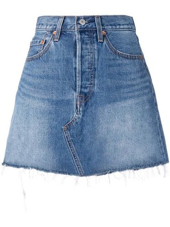 Levi's fitted denim skirt $69 - Buy Online - Mobile Friendly, Fast Delivery, Price