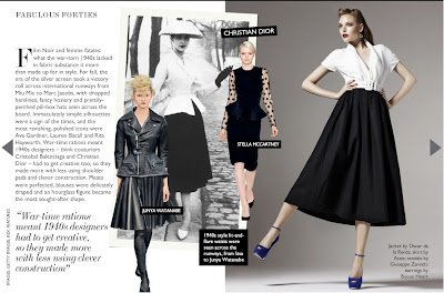 &7: Forties Fashion in the Press
