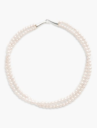 Double-Strand Freshwater Pearl Necklace | Talbots