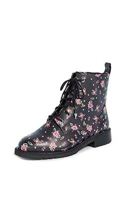 Rebecca Minkoff Gerry Floral Combat Boots | SHOPBOP