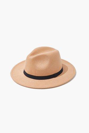 panama hat camel