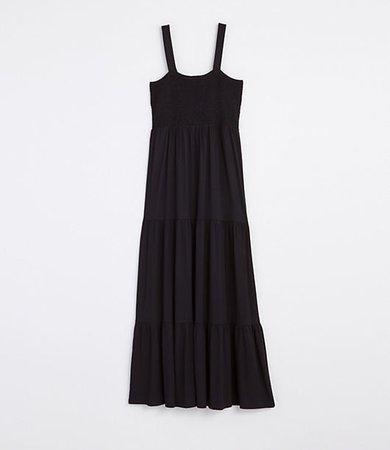 Smocked Tiered Maxi Dress