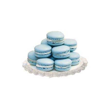 blue pastel filler png macaroons