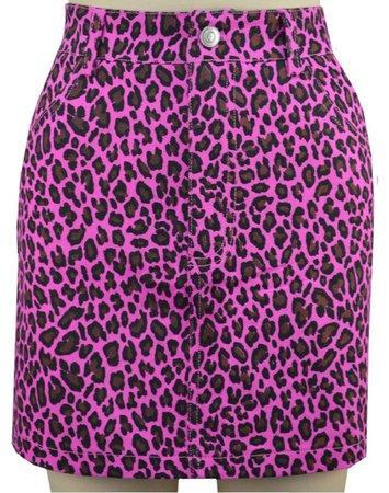 Luna Skirt - Pink Leopard