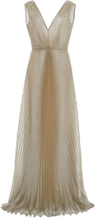 Luisa Beccaria Pleated Gown
