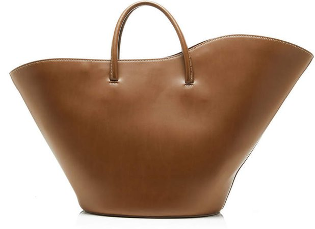 Little Liffner Tulip Large Open Leather Tote