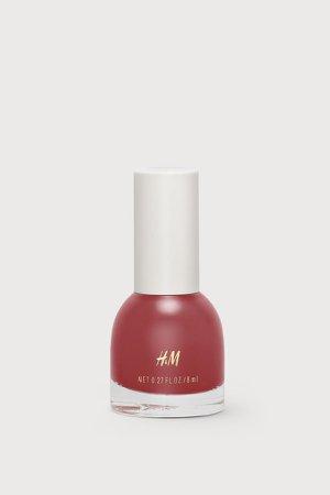 Nail polish - Red