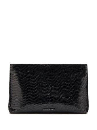 Giuseppe Zanotti V Kym Clutch Bag IB90009001 Black | Farfetch