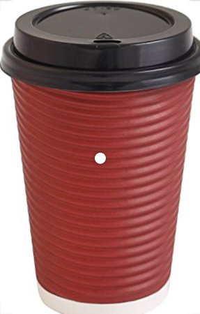 Red Paper Coffee Cup