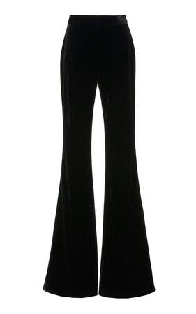 Velvet Wide-Leg Pants by Brandon Maxwell | Moda Operandi