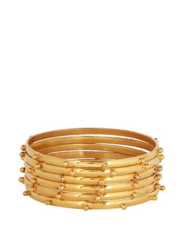 Sylvia Toledano Studded Bangle Bracelets | INTERMIX®