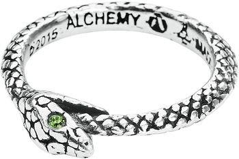 The Sophia Serpent | Alchemy Gothic Ring | EMP