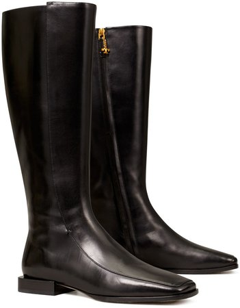 Square-Toe Knee Boot