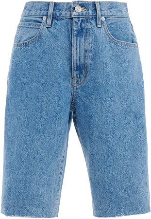 Beatnik Rigid High-Rise Denim Shorts