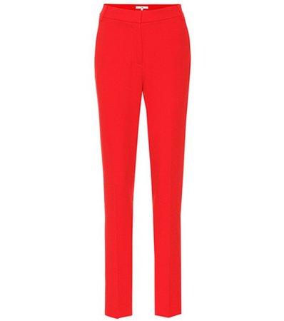 Beatle cropped slim pants