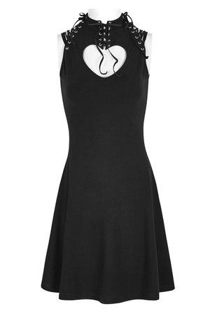 Adorable Little Black Gothic Dress by Punk Rave | Ladies