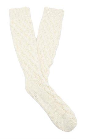 Cable-Knit Socks By Dolce & Gabbana | Moda Operandi