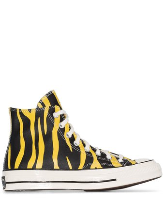 Converse Chuck Taylor Tiger High Top Sneakers Ss20 | Farfetch.com