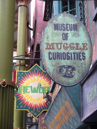Diagon Alley Museum of Muggle Curiosities | Harry Potter