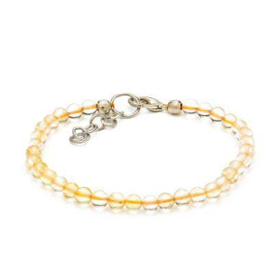Citrine Gemstone Bracelet | Mystic Self LLC
