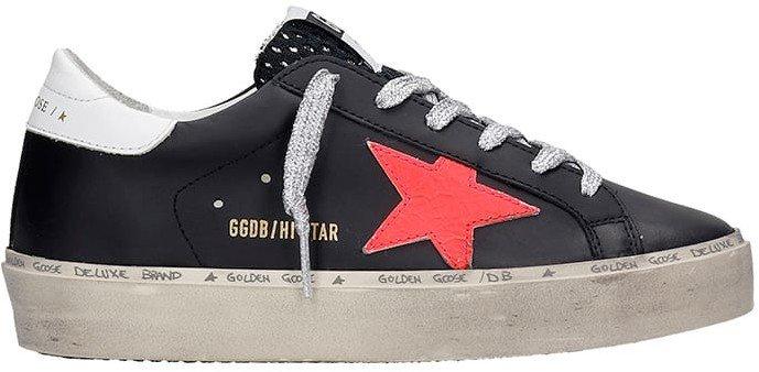 Hi Star Sneakers In Black Leather