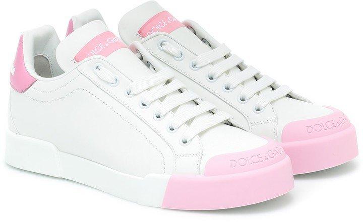 Portofino leather sneakers