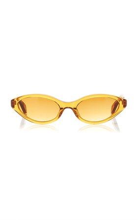 Sharon Cat-Eye Acetate Sunglasses by Kaleos Eyehunters | Moda Operandi